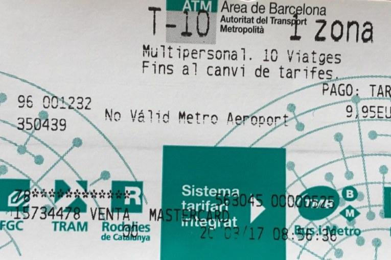 Lístok T-10 v Barcelone – cena, kde kúpiť a pravidlá využívania
